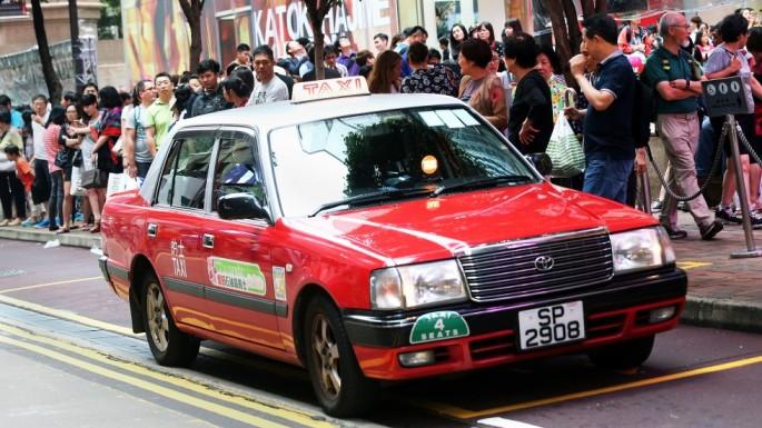 taxi HK