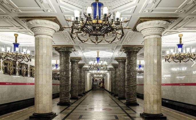 station st-petersbourg